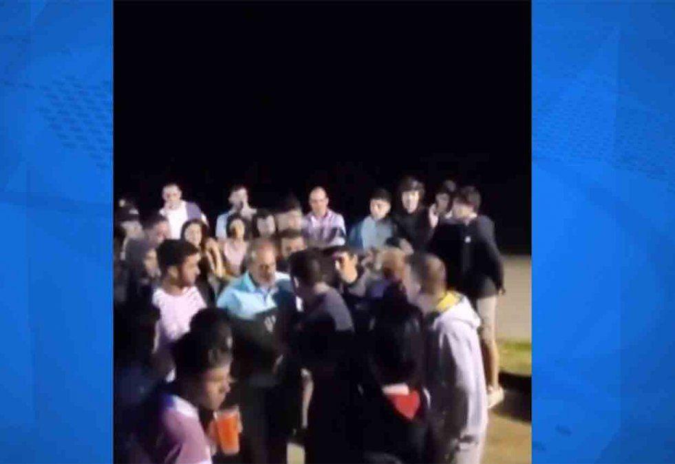 Detienen a marineros alcoholizados que causaron disturbios en Kiyú