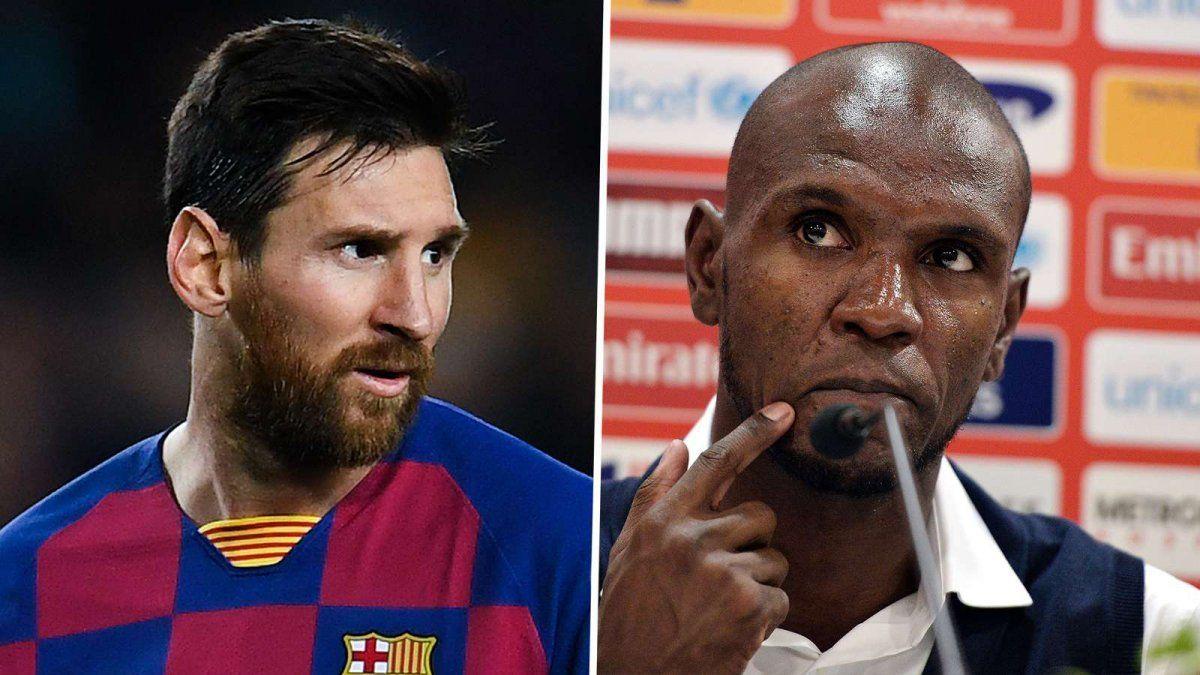 Abidak y Messi