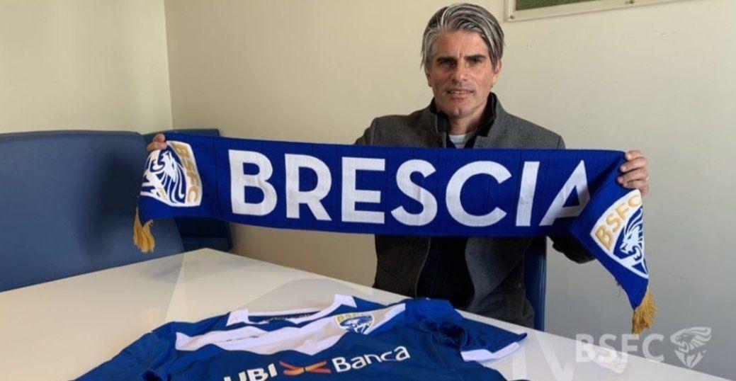 López en su primer día en Brescia
