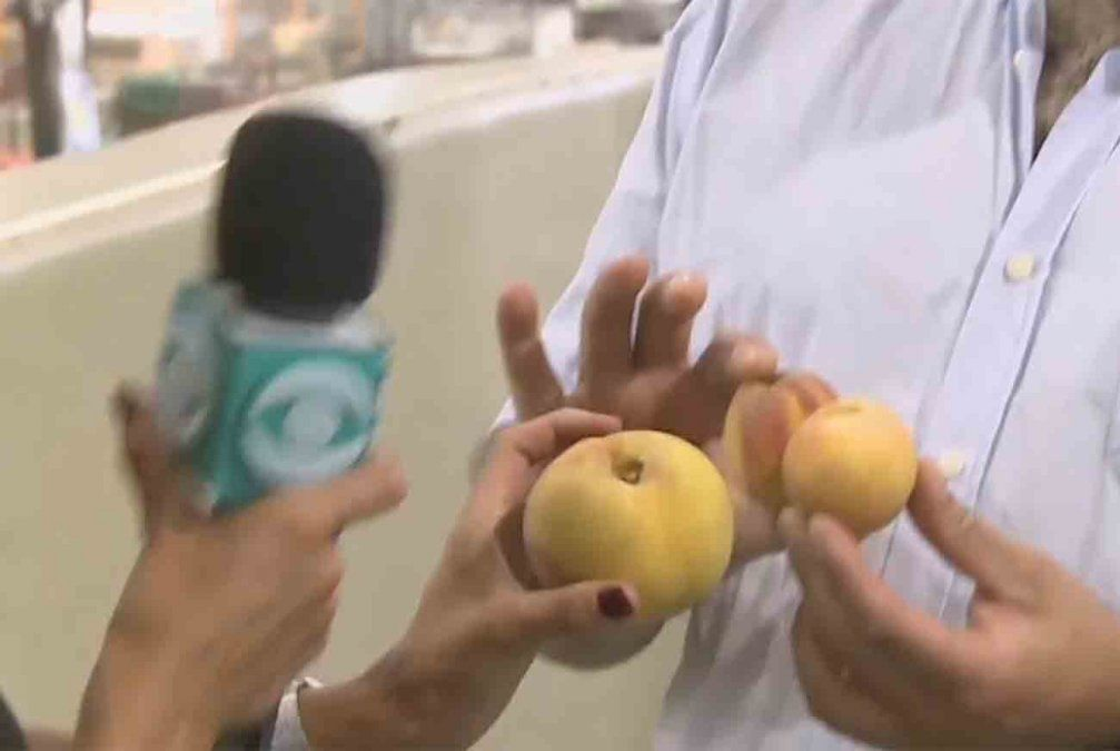 Duraznos y cebollas más pequeños y 50% más caros por la sequía