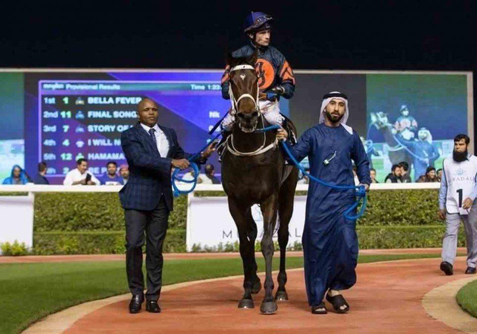 Histórico triunfo de Bella Fever en Meydan