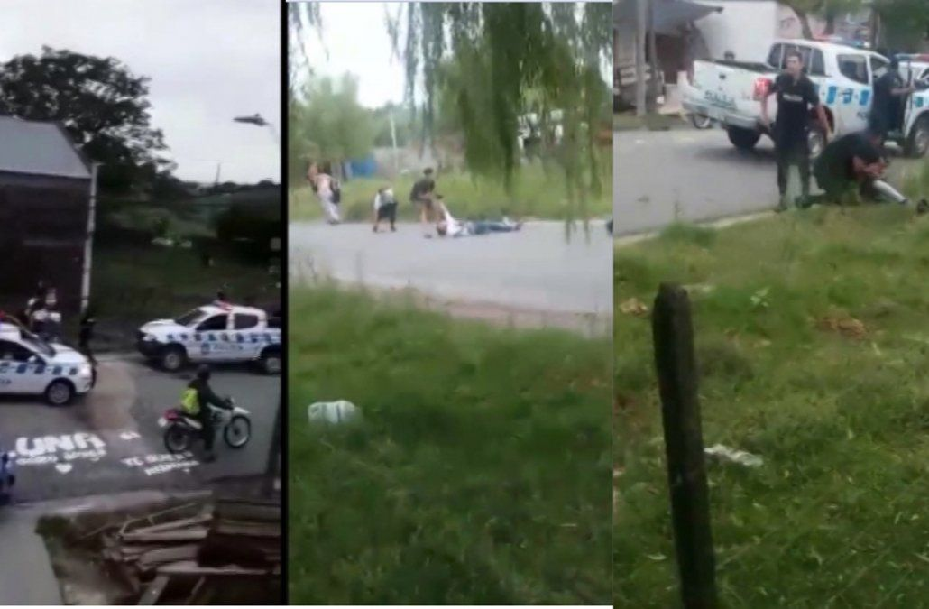 Graves incidentes en Durazno tras enfrentamiento con varios civiles y policías heridos