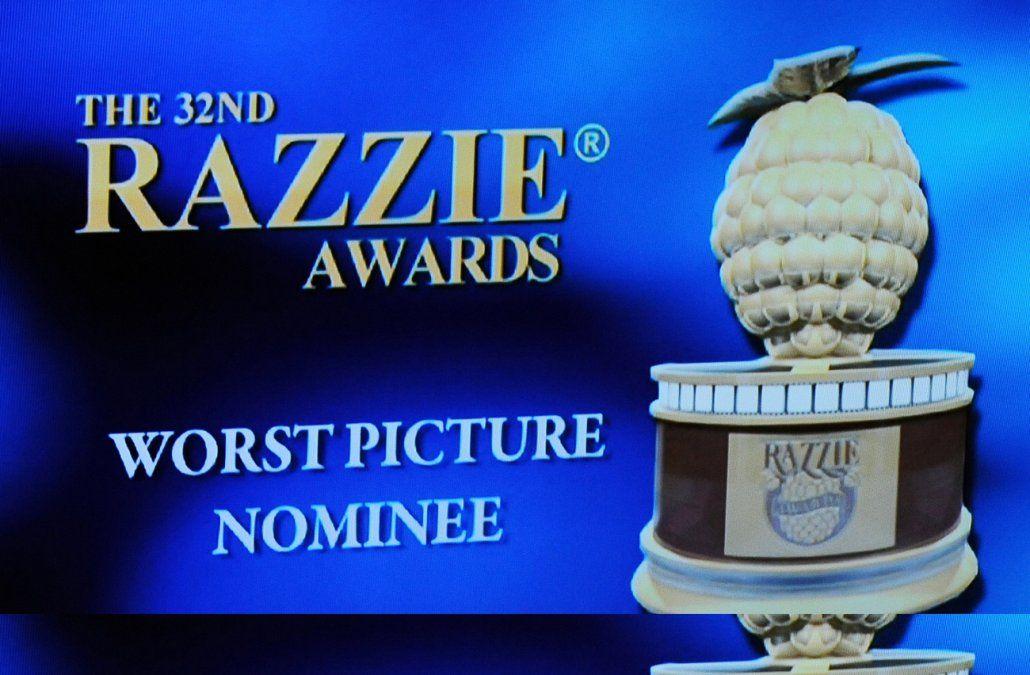 Cats destaca en la lista de los Razzies de las peores películas del año