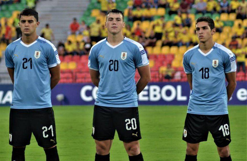 La sub-23 de Uruguay enfrentará a Colombia a las 20 hs.