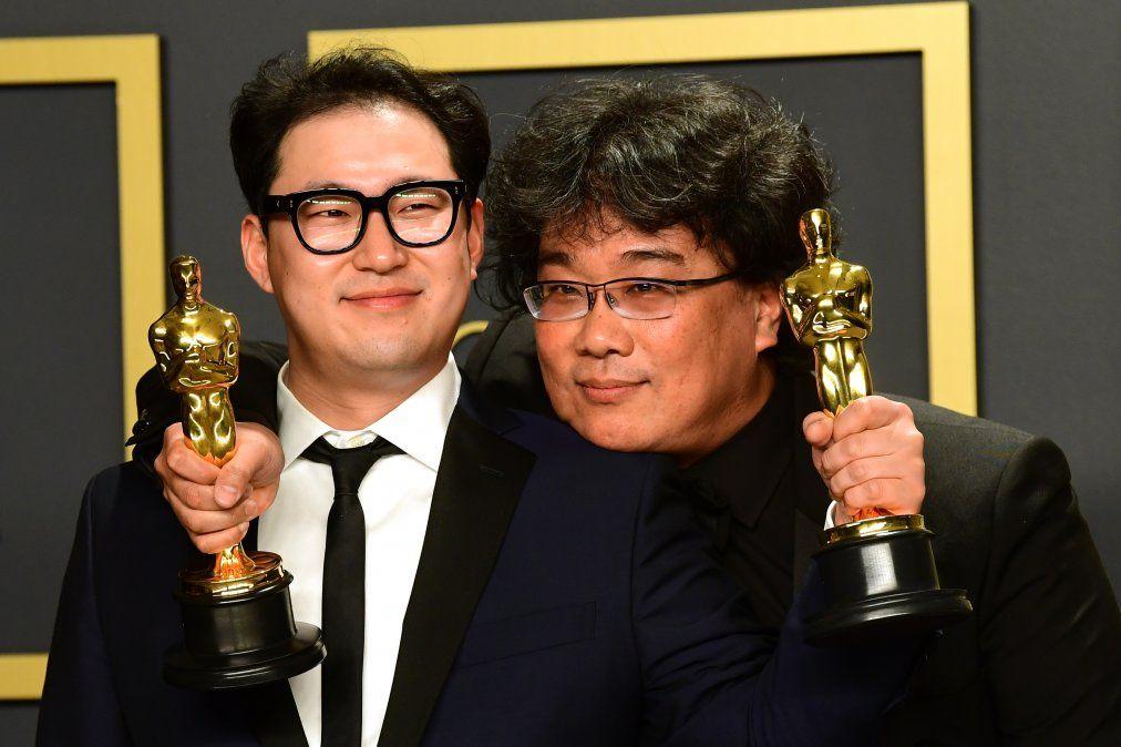 Parásitos hace historia con su Óscar a mejor película