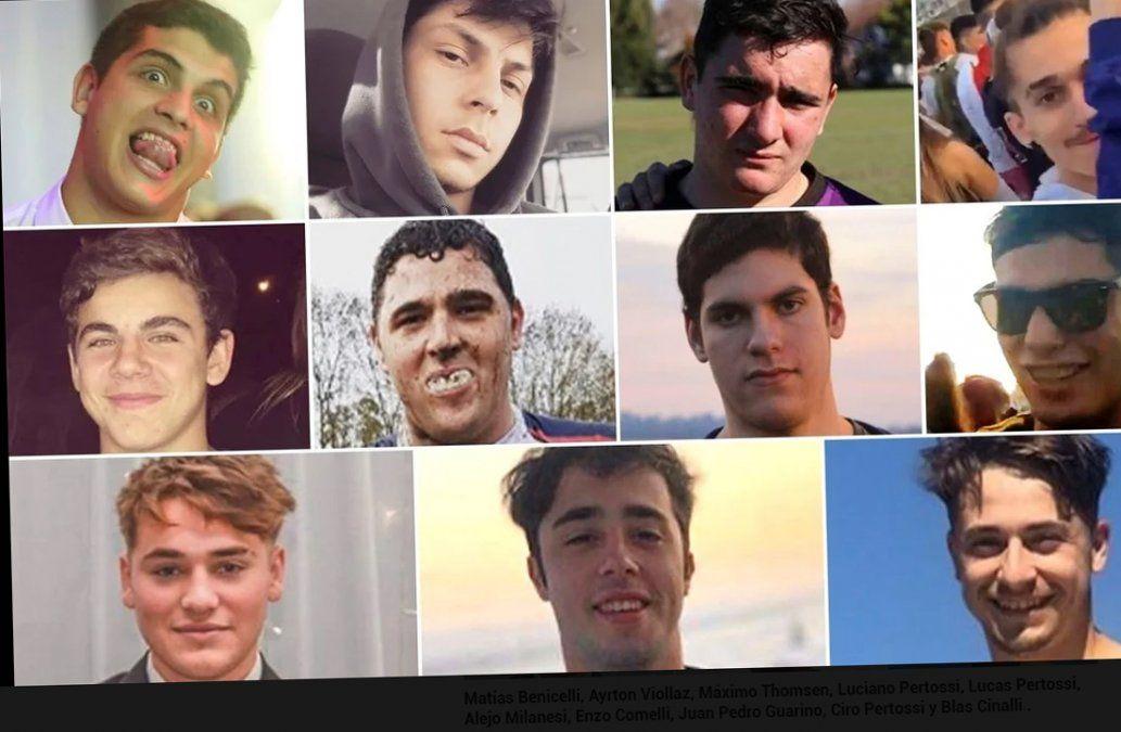 Los diez detenidos