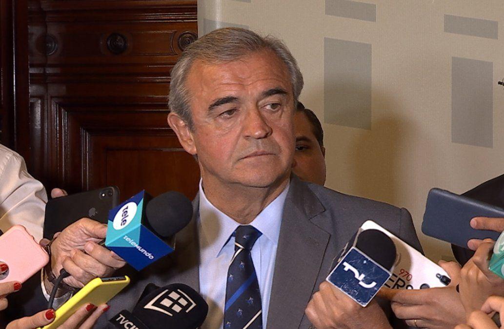 Larrañaga dio tres lineamientos básicos a jefes de Policía