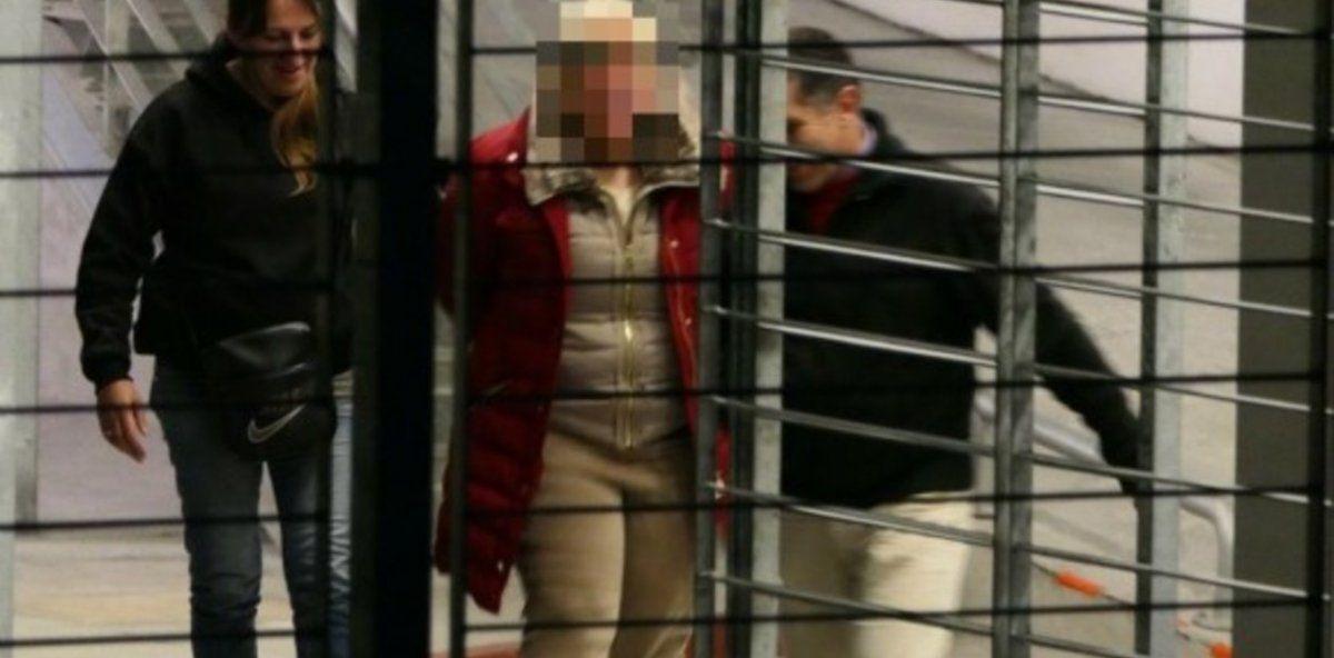 Lulhuky Moraes detenida