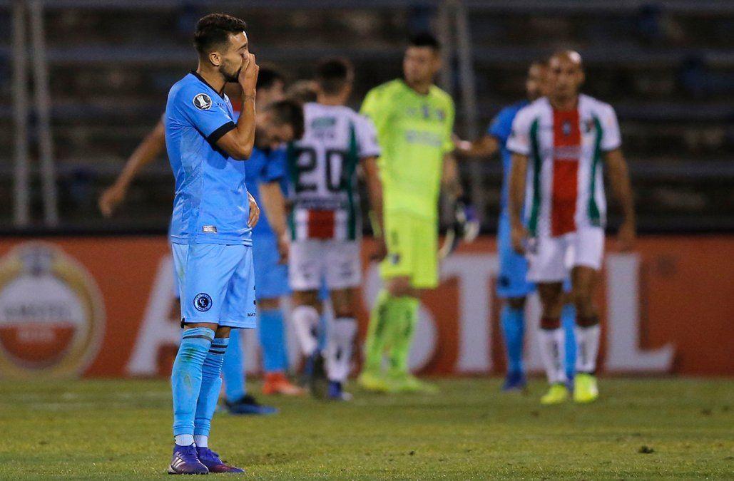 Cerro Largo cayó 5-1 ante Palestino y quedó eliminado de la Copa Libertadores