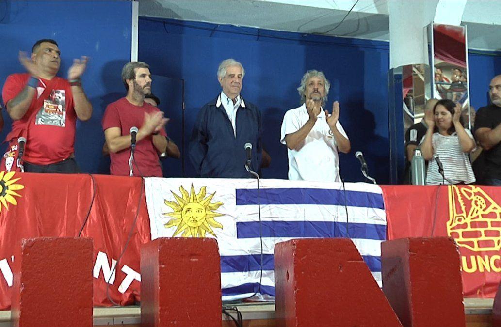 Congreso del Sunca ovacionó a Vázquez: Me siento orgulloso de la clase trabajadora