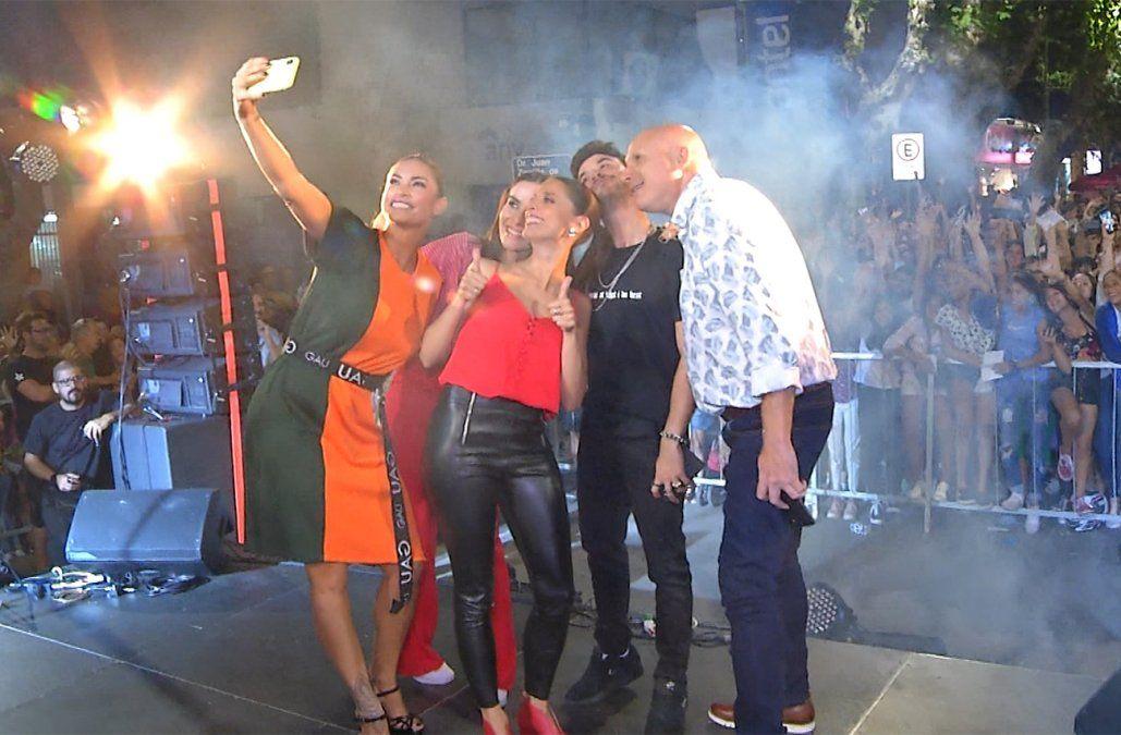 Got Talent está en Durazno: una multitud recibió a Natalia Oreiro y el jurado