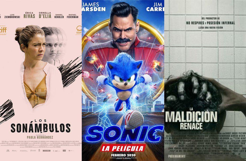 Los sonámbulos, Sonic y La maldición renace, lo que hay para ver en el cine