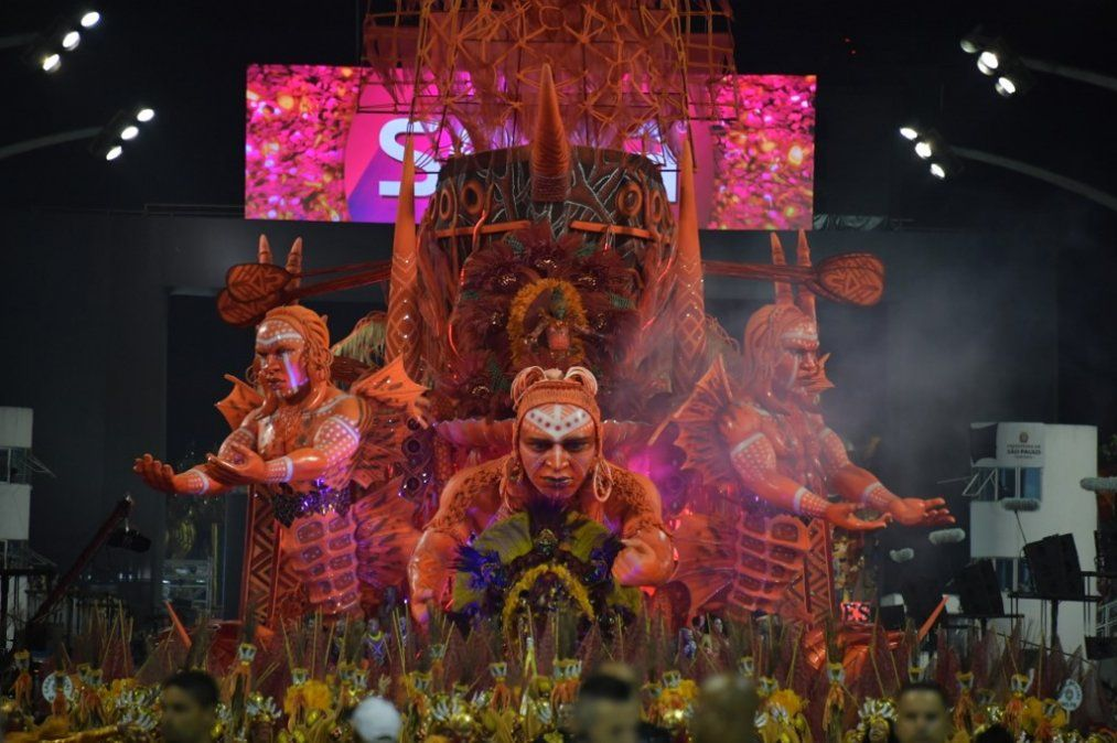 Este viernes comenzó el Carnaval 2020 en Río de Janeiro