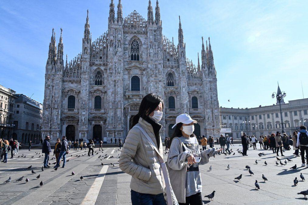Quinta víctima mortal en Italia por coronavirus; caen las bolsas en Europa y el precio del petróleo
