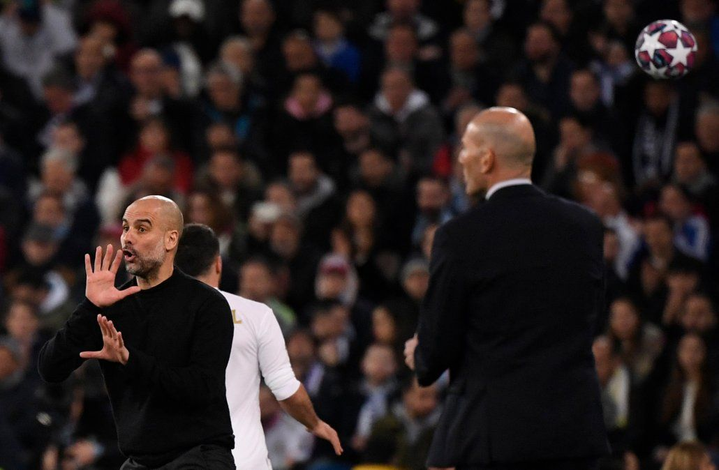 Guardiola le ganaa el duelo táctico a Zidane y se oloca en inmejorable condición para avanzar en Champions League y poner a los ciudadanos en las puertas de cuartos de final