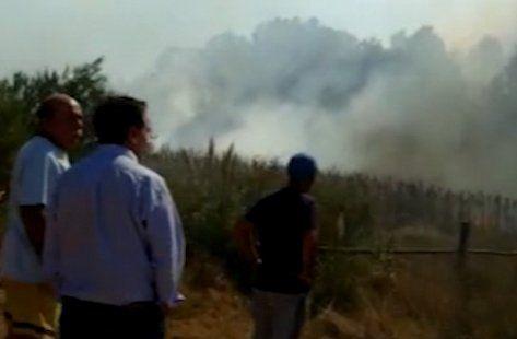 Incendio en Pinar Norte puso en peligro a un complejo de viviendas