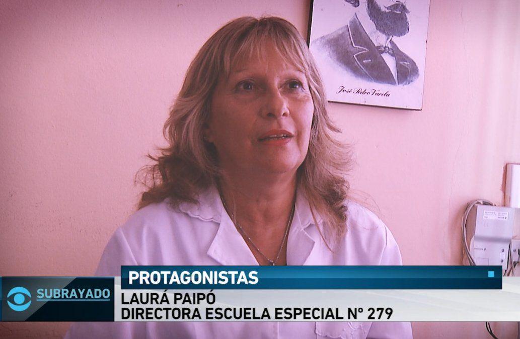 La vuelta a clases es especial para Laura: es la primera directora ciega de nuestro país