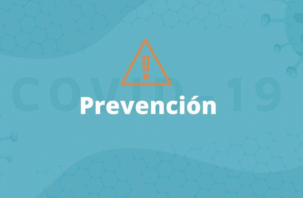 Todas las medidas de prevención para evitar la propagación de la enfermedad