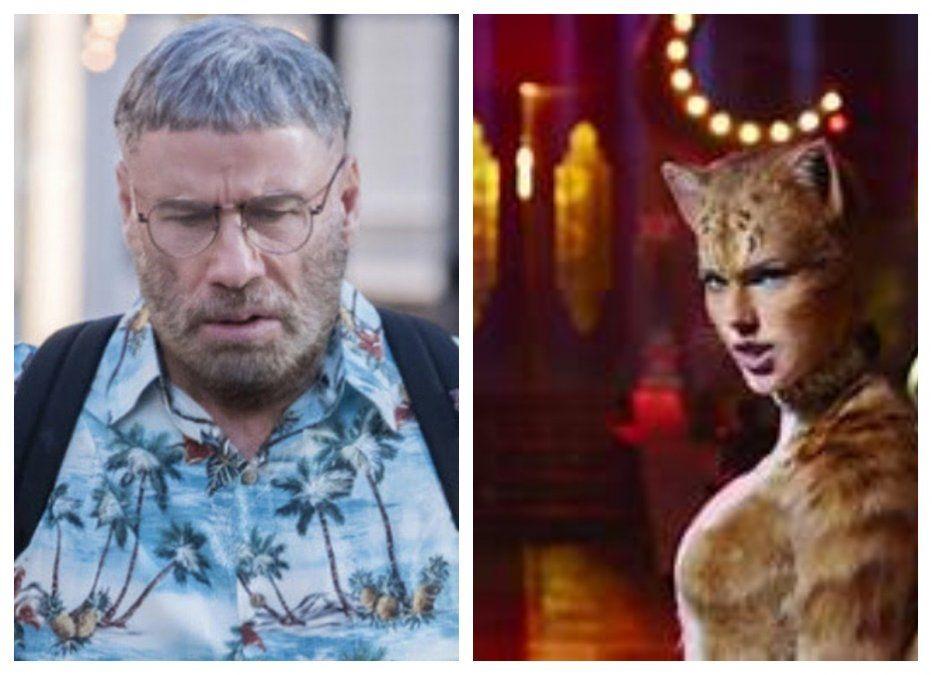 El film musical Cats gana en los temidos premios Razzies a peor película del año; John Travolta, peor actor de 2019