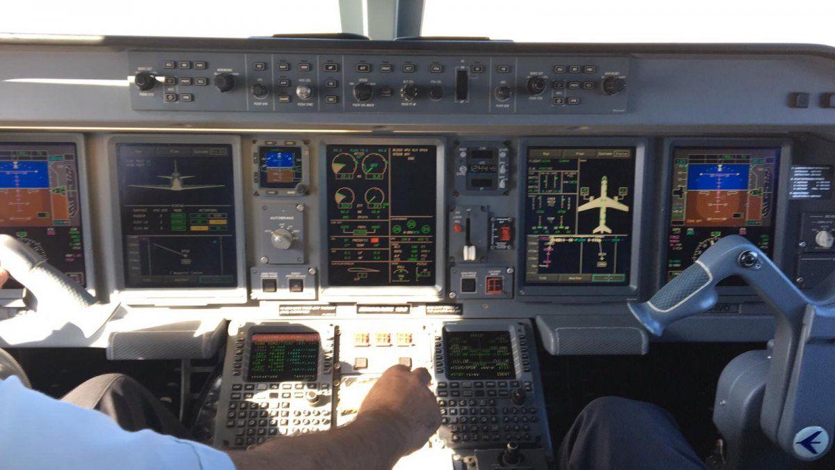 Avión que partió rumbo a Cusco