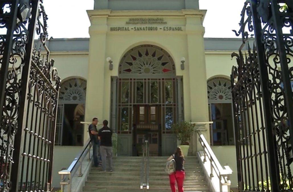 Jerarcas del Hospital Español en aislamiento a la espera del test de coronavirus