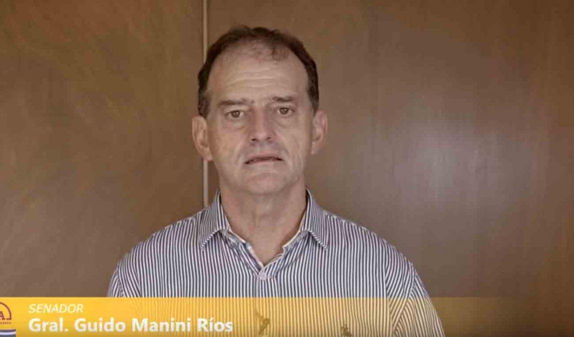 Manini Ríos celebró las medidas  de descontar el sueldo a los empleados públicos