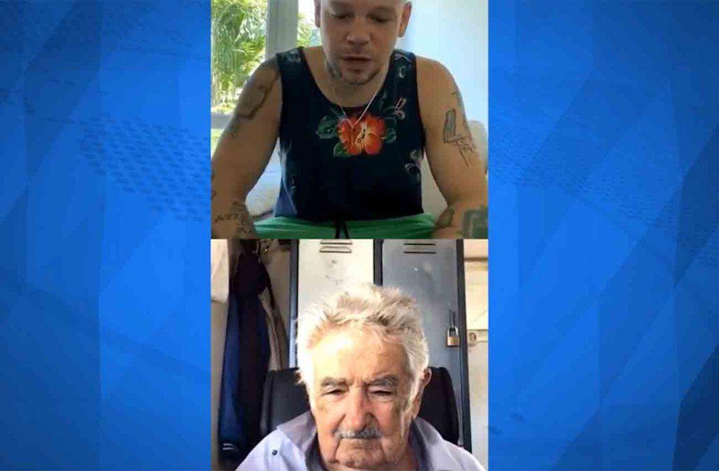 Mujica entrevistado por Residente: el coronavirus empezó en los sectores acomodados