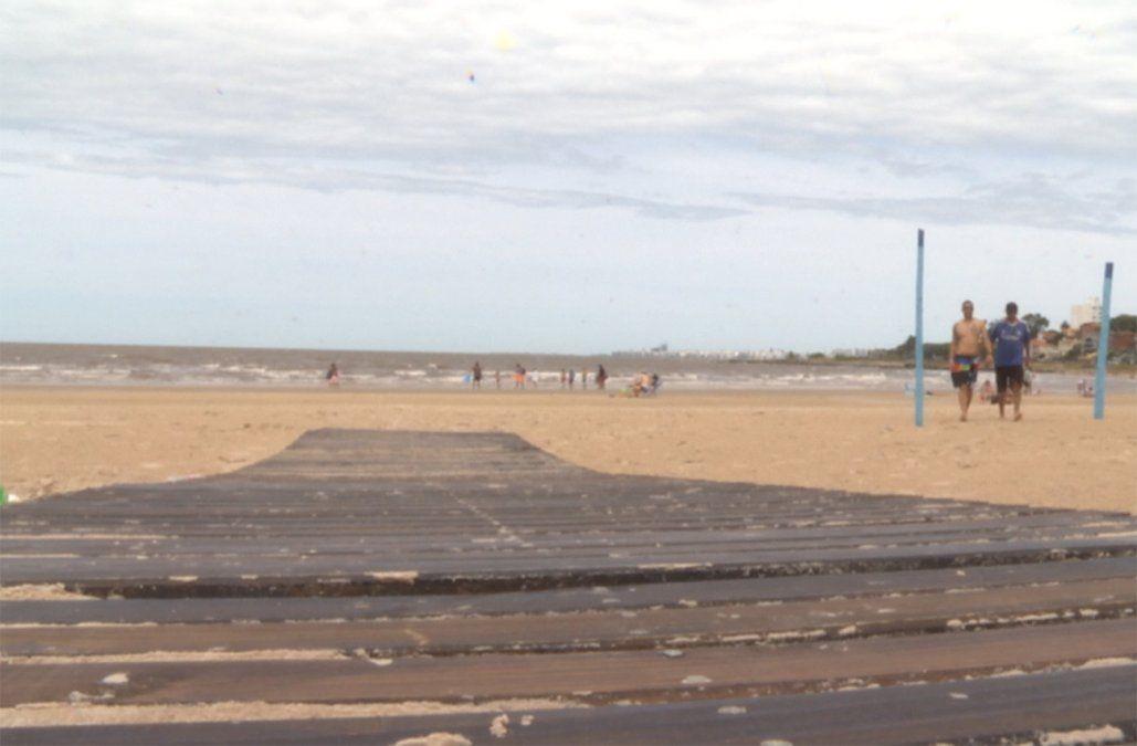 La Intendencia vallará las bajadas a las playas de Montevideo