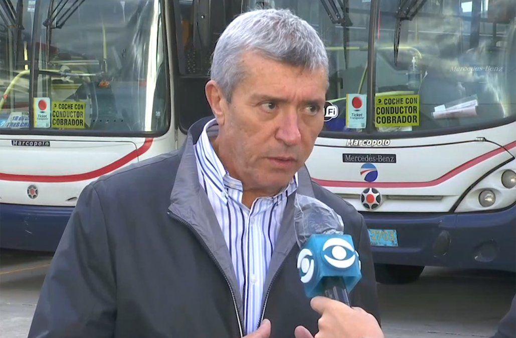 Presidente de Cutcsa pidió no generar pánico por la situación en algunas líneas de ómnibus