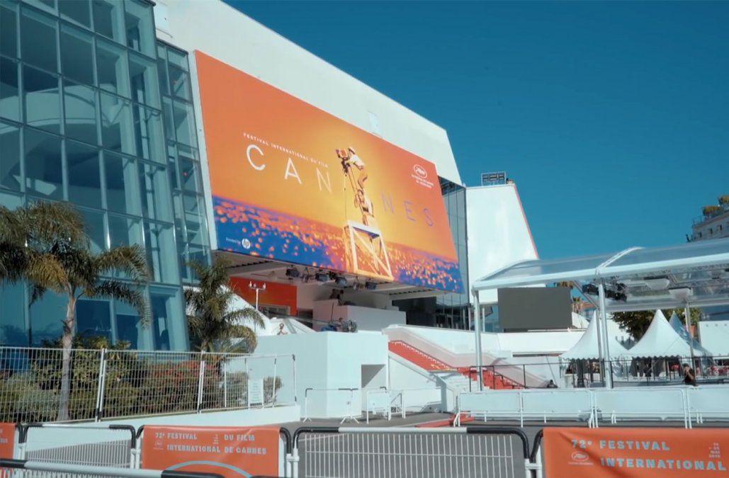 Hollywood y Cannes convertidos en hospitales y refugios