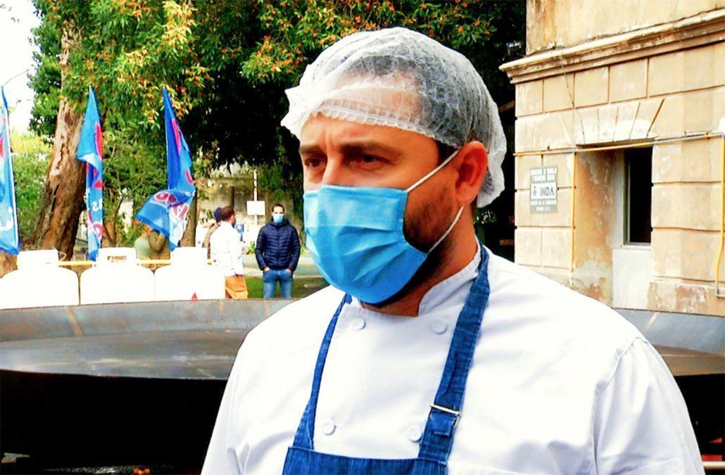 Cazuela solidaria: elaboraron 5000 platos para donar a instituciones