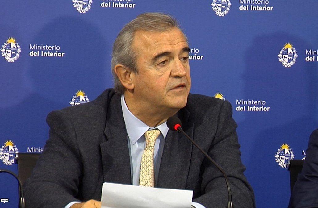 Larrañaga anunció caída de rapiñas y hurtos en marzo y abril respecto a enero y febrero