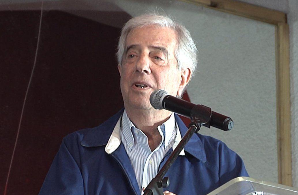 Vázquez dio negativo al test de coronavirus que se realizó tras reunión con Lacalle Pou