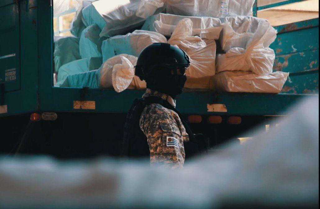 Fueron destruidas 7,5 toneladas de cocaína