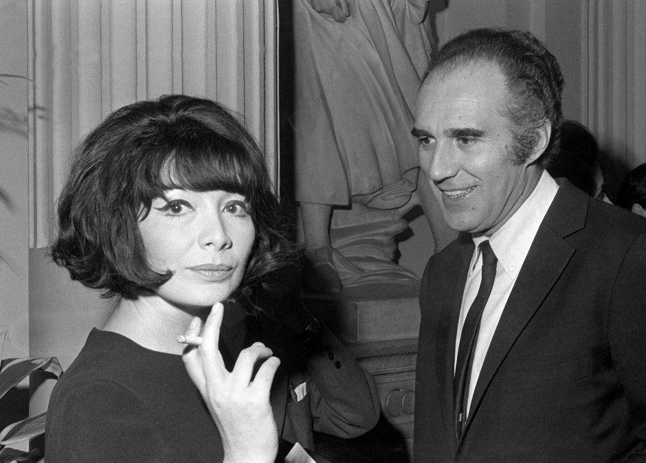 Junto a Juliette Greco en 1967