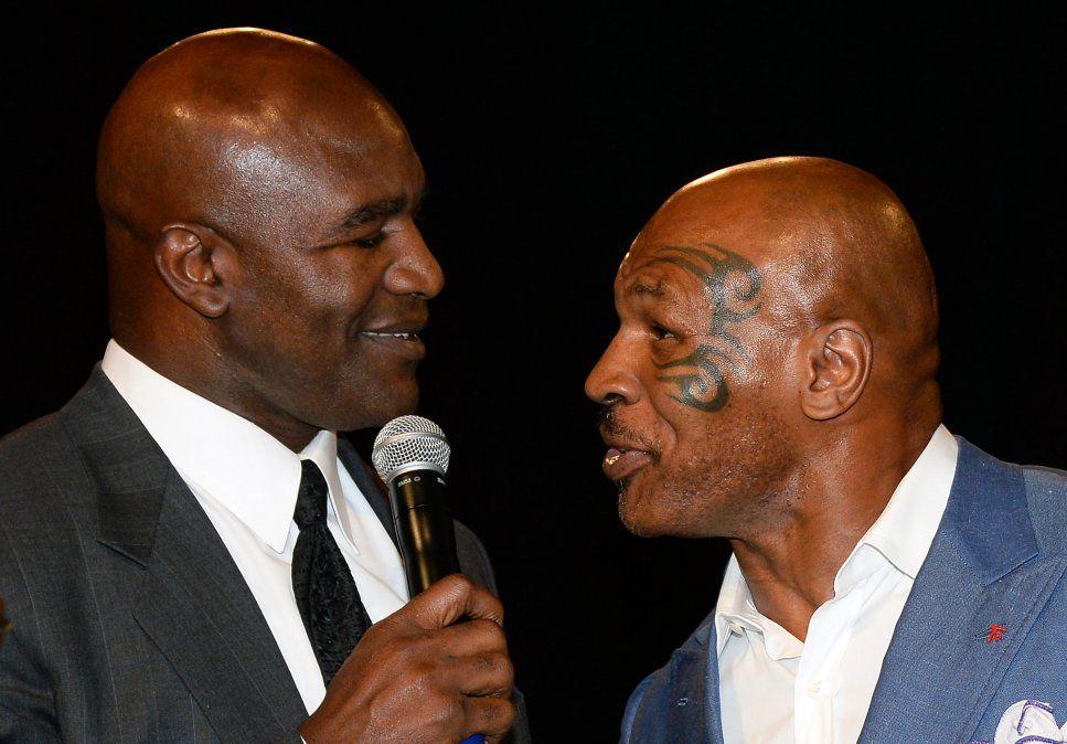 Mike Tyson y Evander Holyfield se entrenan para una tercera pelea; será benéfica y para la lucha contra el Covid-19