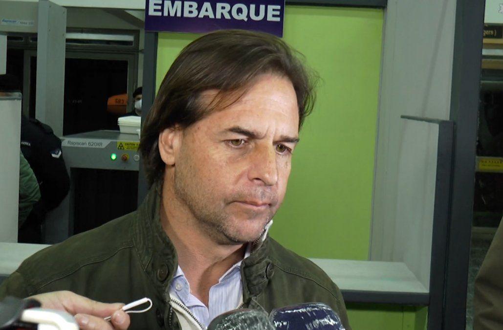 El presidente de la República en Rivera: este lunes habrá reunión por aumento de casos