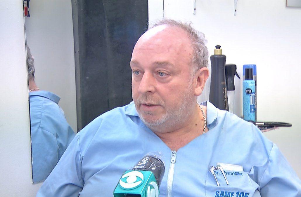 El médico apuñalado por no usar tapabocas contó cómo se salvó de la agresión