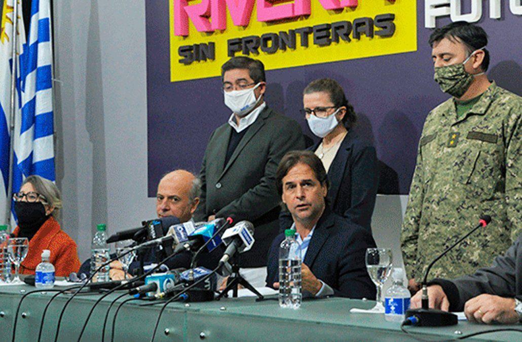 Dieron negativo los test hechos al presidente Lacalle Pou y demás jerarcas del gobierno