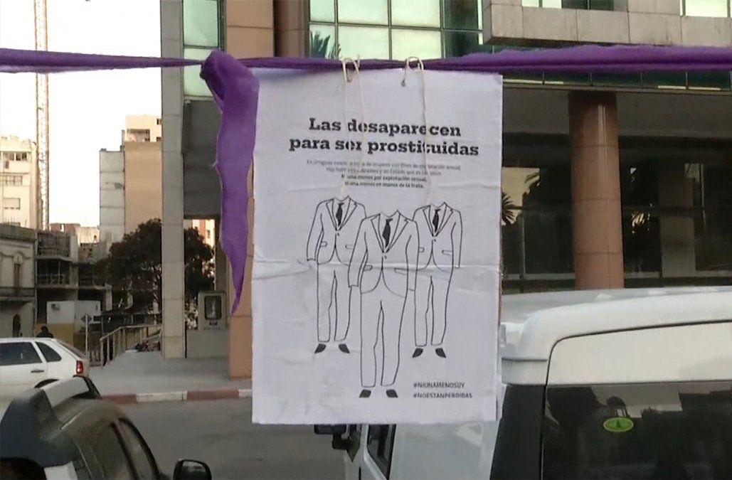 Más de 300 mujeres se movilizaron contra la trata y explotación sexual