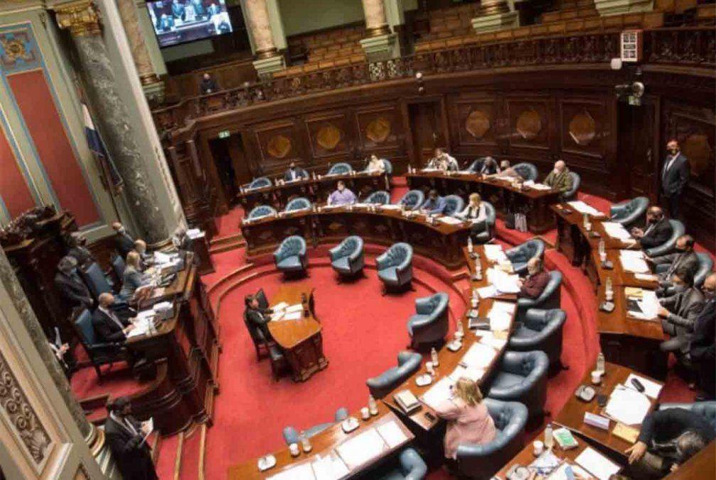 Senado retomó discusión en particular de la Ley de Urgente Consideración