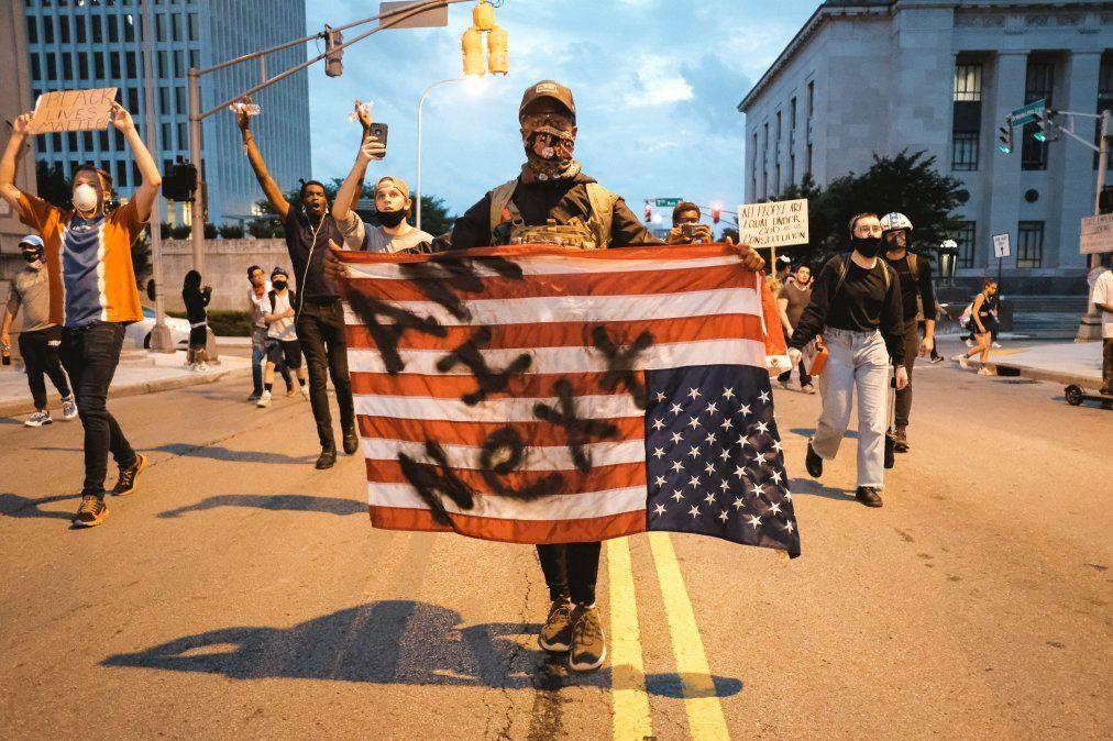 Semana de intensas protestas en Estados Unidos por la muerte de George Floyd