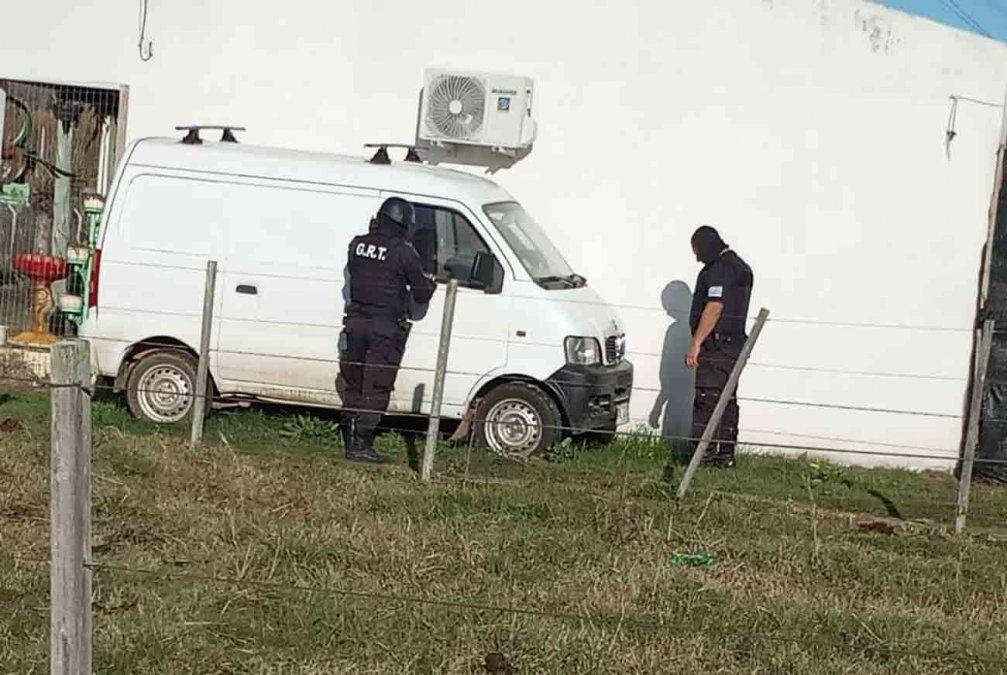 Policías de Paysandú realizan allanamientos