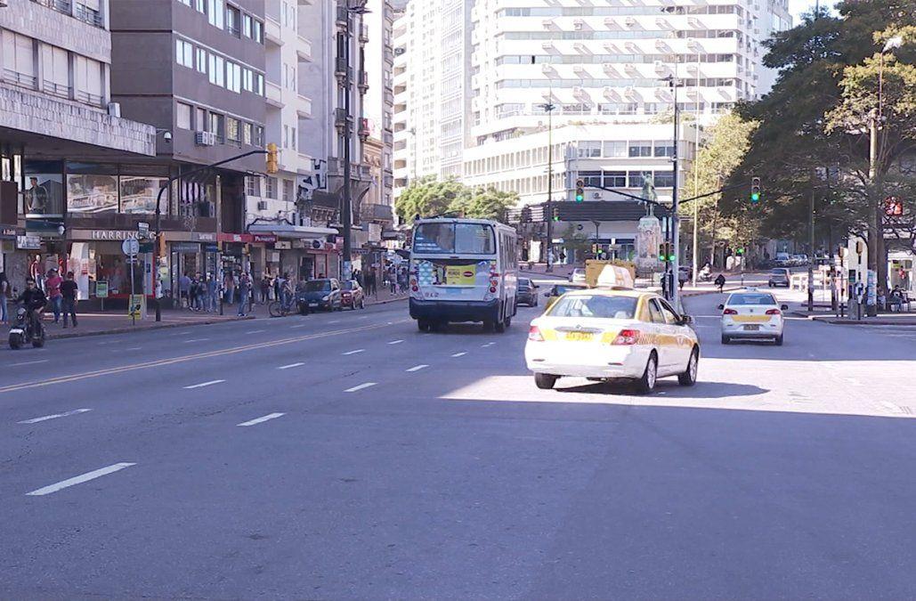Montevideo recuperó el 98% del tránsito que tenía antes de la pandemia