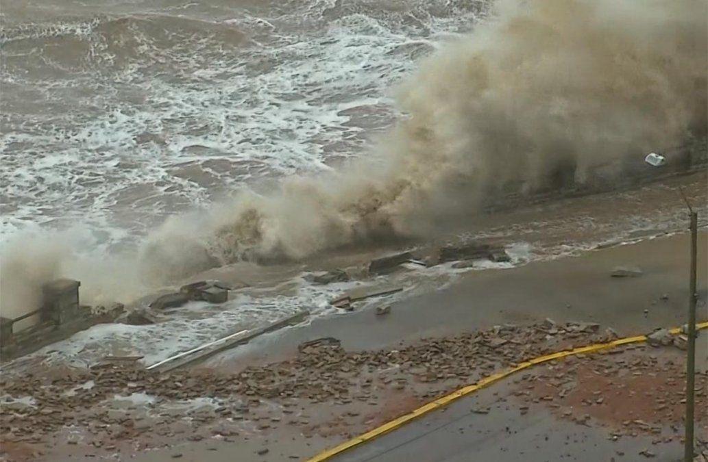 Precipitaciones y vientos de 60 km/hora o superiores en Montevideo