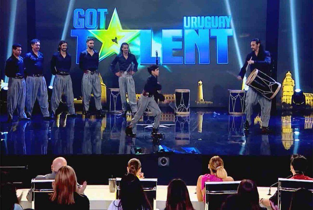 Ballet Tierra Adentro se llevó el pase de oro en GOT Talent Uruguay