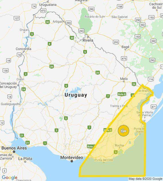 Sigue vigente alerta amarilla por vientos fuertes en la zonas sur y sureste