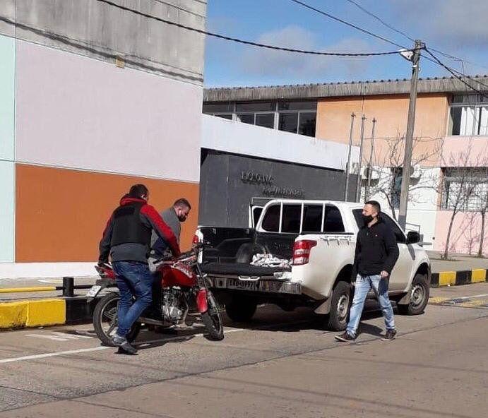 La Policía se hace cargo de la moto del atacante. Ya se había entregado en la Unidad de Violencia de Género