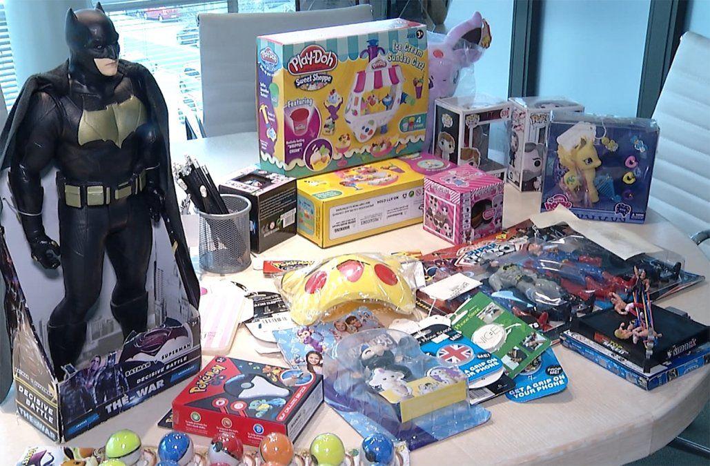 Aduanas incautó 20.000 productos truchos; miles eran juguetes chinos