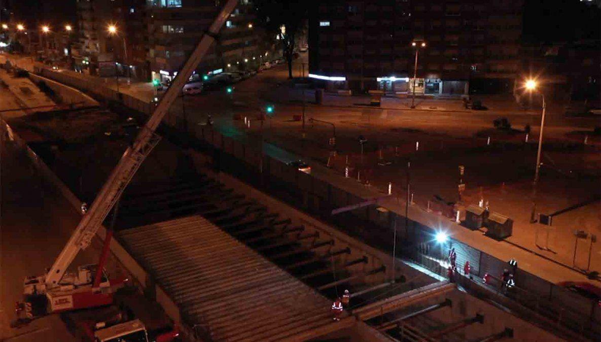 Estiman que el túnel de Avenida Italia quedará habilitado en diciembre